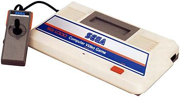 The Sega SG-1000 (also called the Mark I) was Sega's first home console. Although a market test was conducted in 1981, it would be another two years until the SG-1000 received it's full launch, putting it in direct competition with the NES. Sega's arcade background meant that a number of arcade games were converted to the system, most of which were very well done.