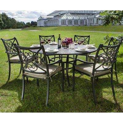 Hartman Kew 2015 Round 6 Seat Dining Set    H15KEWSET01    Garden Furniture  World. 8 best Bramblecrest Cotswold Garden Furniture images on Pinterest