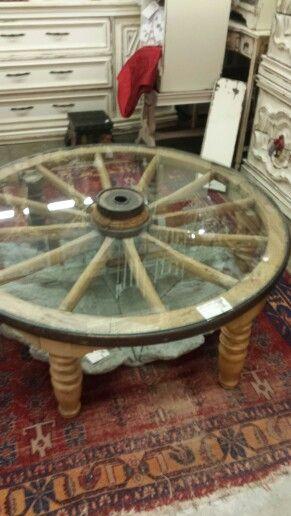 Best 25 Wagon wheel table ideas on Pinterest Milk can table