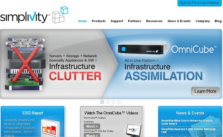 SimpliVity Wins Gold for Best Data Center Solution in 8th Annual Network Products Guide Awards