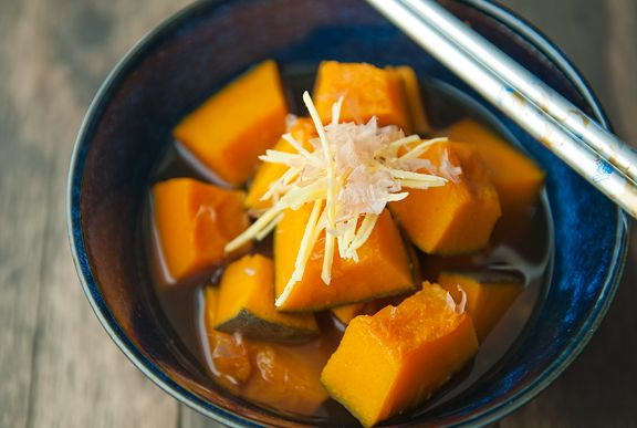 kabocha squash nimono recipe | use real butter
