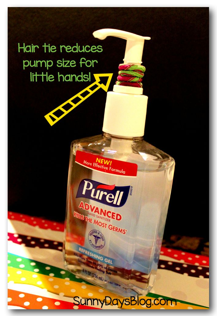 Save your Sanitizer!