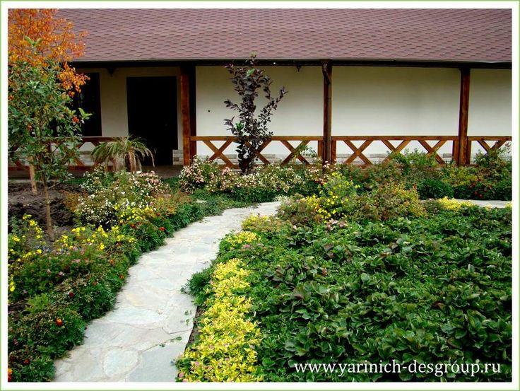 Ландшафтное решение для маленького сада (7-2) | Дизайн ландшафта и интерьера