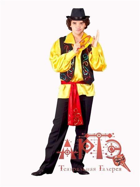 Цыганские костюмы мужская рубаха выкройка