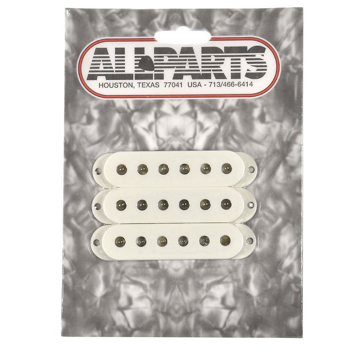 Allparts Pickup Covers for Stratocaster - Parchment