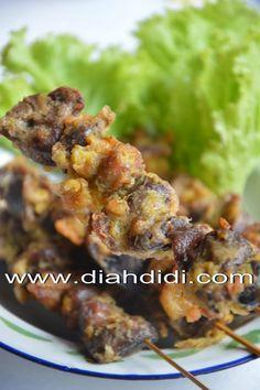 Diah Didi's Kitchen: Sate Ati Ampela Goreng Balut Telur