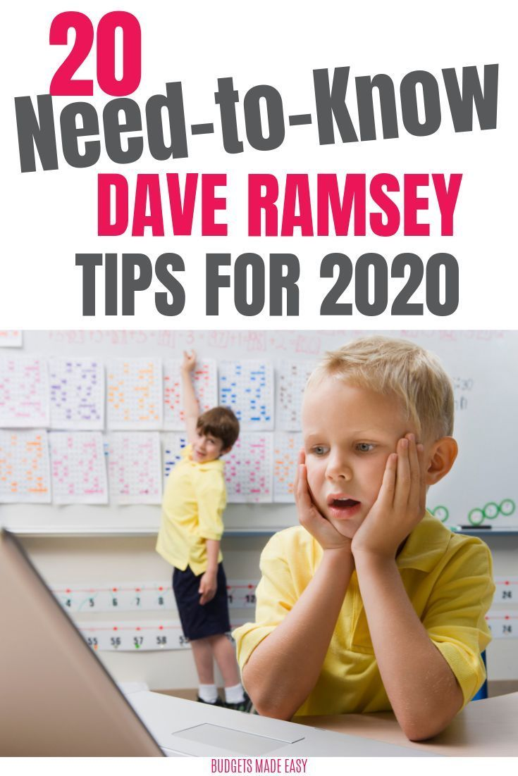 The 20 Best Dave Ramsey Tips to Makeover Your Money Today – Dave Ramsey Money Advice