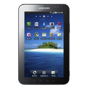 Review Samsung P1000 Galaxy Tab 7-inch 3G + Wi-Fi Tablet (ARM Cortex A8 1GHz, 16 GB, 7-inch TFT LCD, Bluetooth, Android 2.2) - Sim Free - Samsung Best Review