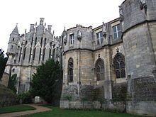 Palace of Poitiers, seat of the Counts of Poitou and Dukes of Aquitaine in the 10th through 12th centuries, where Eleanor's highly literate and artistic court inspired tales of Courts of Love.