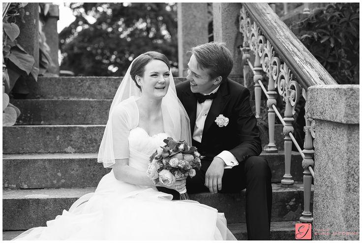 Bride and groom at Bogstad Gård // Brud og brudgom på Bogstad Gård