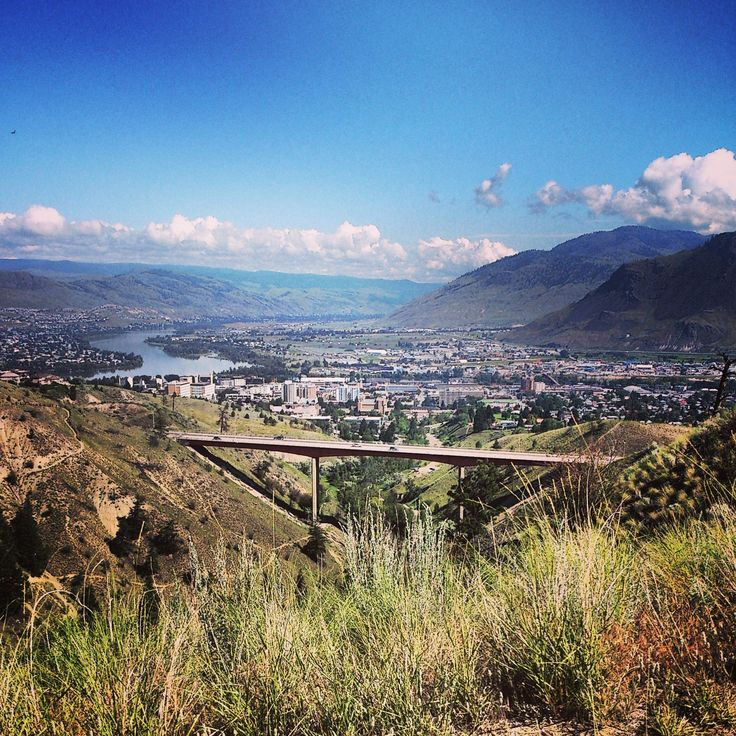 The City Of Kamloops in Kamloops, BC (picture via @tishpics instagram)