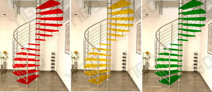 China cast iron spiral stairs /design glass spiral staircase for small spaces for sale
