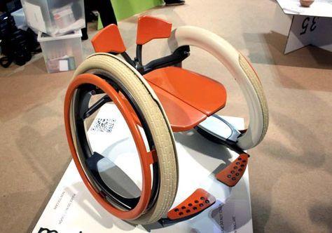 Mobi: una interesante silla de ruedas plegable y eléctrica