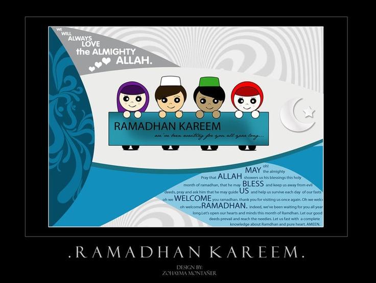 Ramadhan Kareem by zohaymamontaner.deviantart.com