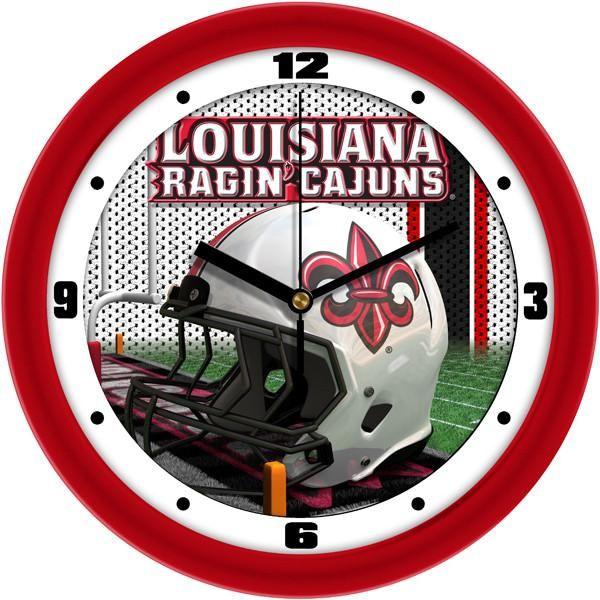New - Louisiana Ragin' Cajuns-Football Helmet Wall Clock