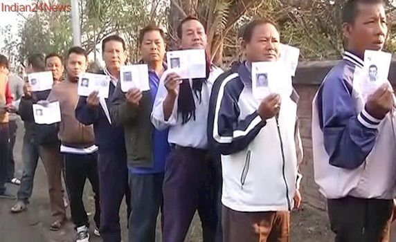 Live: UP Records 23% Voter Turnout And 43% In Manipur Till 11 am