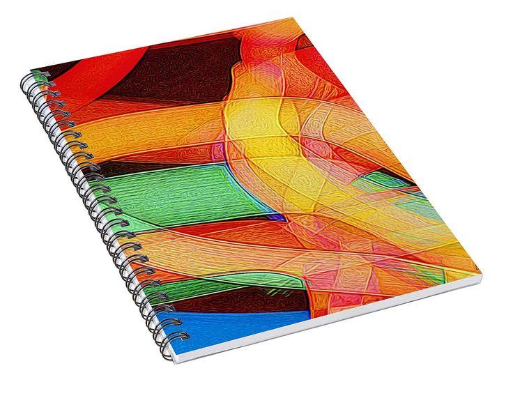 Fiesta Spiral Notebook for Sale by Norman Gabitzsch
