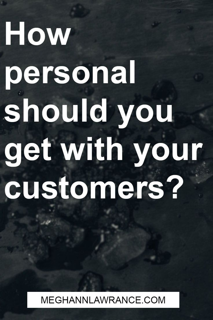 """It can seem easier (and potentially more professional looking) to keep your business 100% professional, but there is a benefit to allowing a little more of """"you"""" show in your business. That benefit boils down to one simple truth - customers want to feel like they do business with a human, not with a faceless company."""