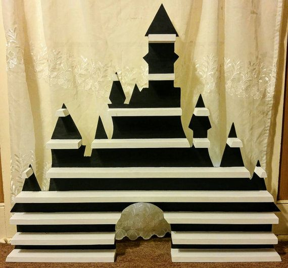 Check out this item in my Etsy shop https://www.etsy.com/listing/501568729/classic-disney-castle-logo-display-shelf