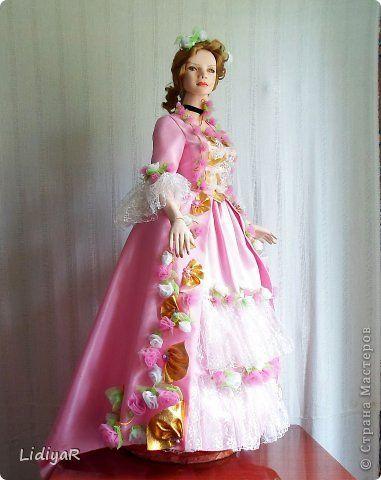 Куклы Папье-маше Все она же  -Мадам Помпадур Бумага фото 1