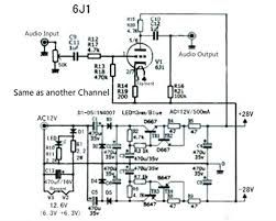 Search Schematic Of Tube Preamplifier For This Amplifier - Fav