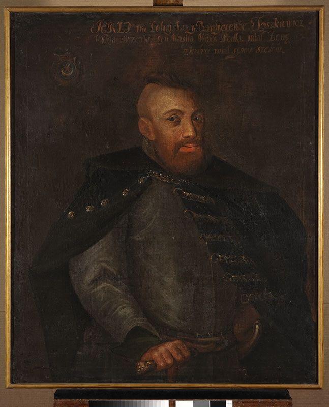 Muzeum Cyfrowe dMuseion - Portret Jerzego Tyszkiewicza h. Leliwa (?-1576), wojewody brzeskiego