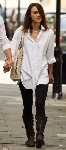 Best 25  Boyfriend shirt ideas on Pinterest | Rihanna street style ...