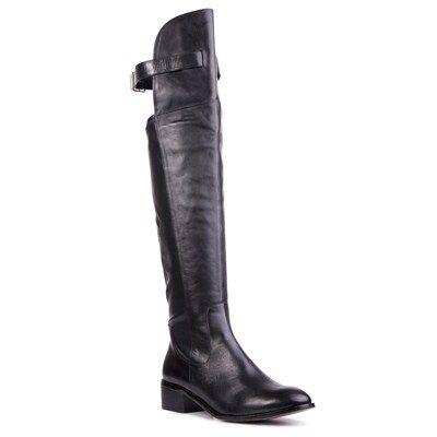 Over the knee boots from @Overland Aimiti EsperanzaPooja Footwear @Kay Beaver New Zealand  #statementboots #winter