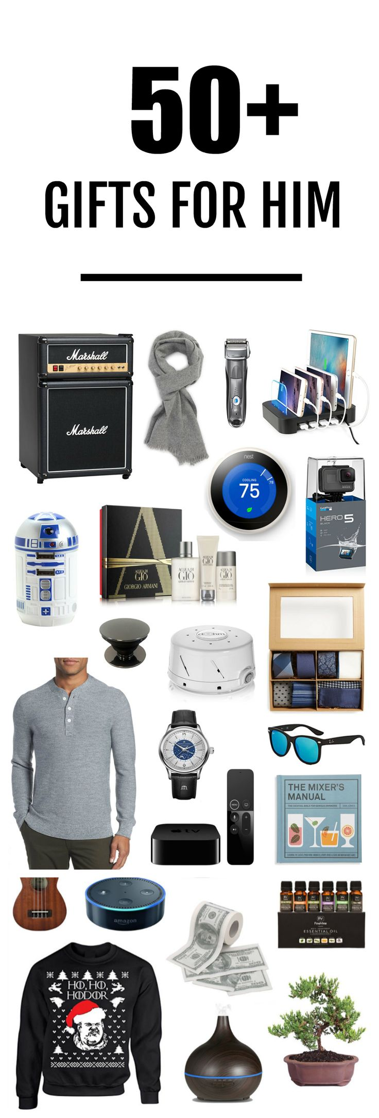 Christmas Shopping: A Gift Guide for the Men in Your Life ,  Mash Elle | Affordable Fashion & Beauty Tips