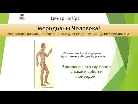 Акупунктурные точки. Учение о меридианах! - YouTube