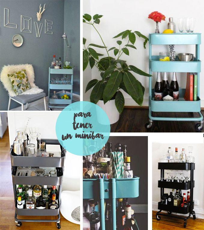 Se llama RÅSKOG y aunque su nombre no te suene, es la camarera de Ikea. Ese carrito con más utilidades que una navaja suiza