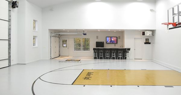 9 best indoor basketball courts images on pinterest for Indoor basketball court construction