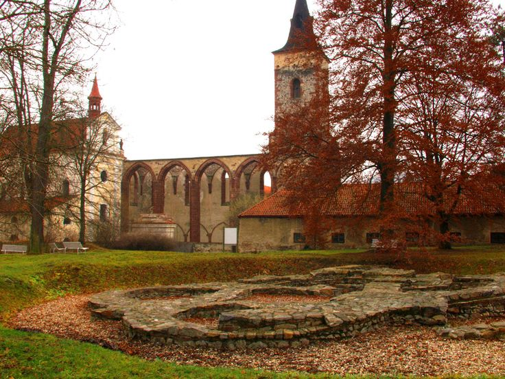 Sázava Monastery (Czech Republic), the origin of Saint Prokop, 14th Century