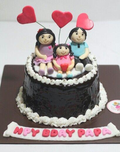Happy family cake