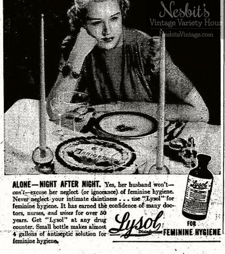 for feminine hygiene