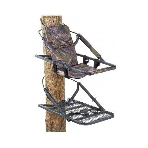 Climbing Tree Stand Treestand Deer Hunting Safety Harness 300 Lb Gun Camouflag Guide Gear Extreme Deluxe