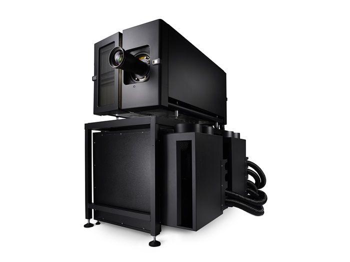 Proiettore cinematografico laser 6P RGB con luminosità estrema per schermi di qualità elevata