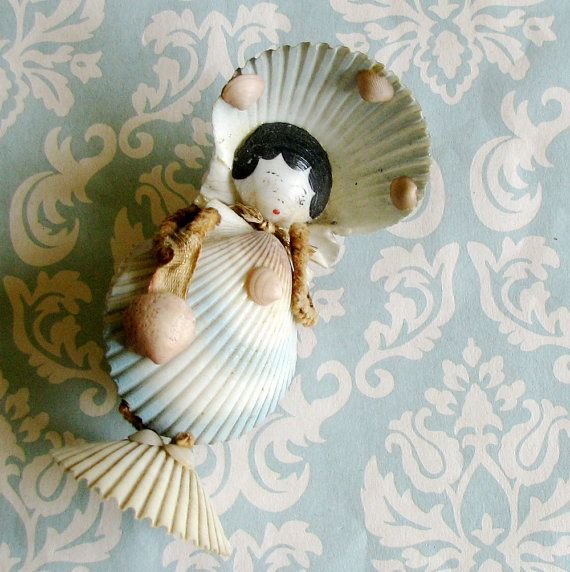 shell doll (Sorry, no credit available. If you know one please me know or leave a note in the comments x)