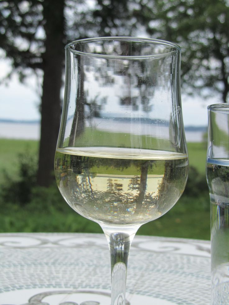 Kuiva Valkoinen - A properly sour and balanced white-currant party wine for strong- tasting fish, crayfish and sea food. http://www.alahovi.com/