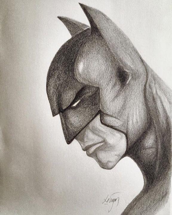 Batman pencil drawing