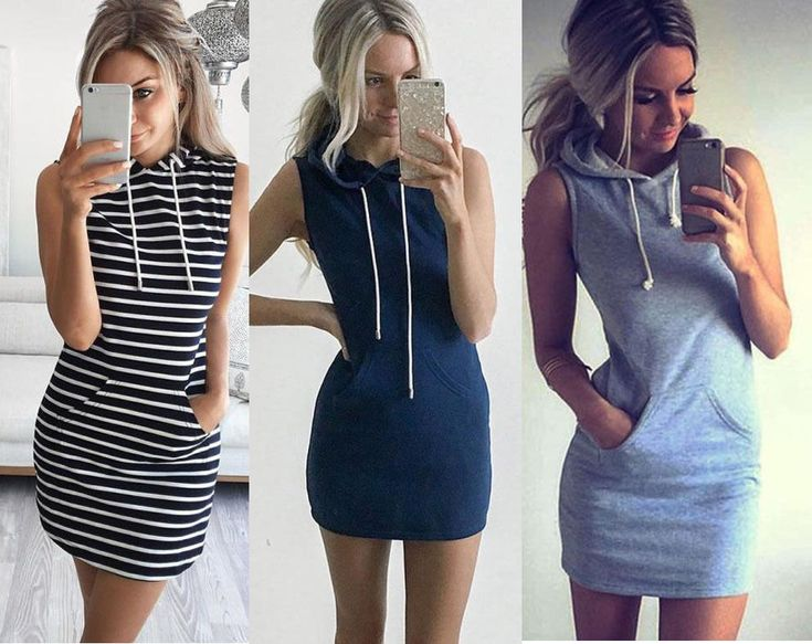 Women Sleeveless Party Evening Cocktail Summer Beach Short Mini Dress Hoodie New #Unbranded #Sexy #Casual