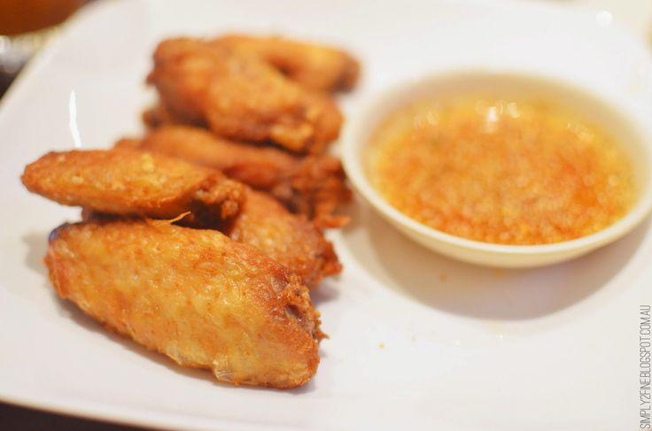 Fried chicken  http://simply2fine.blogspot.com.au/?m=1