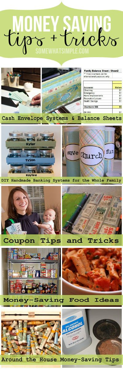 Money saving tips and tricks from around the web!