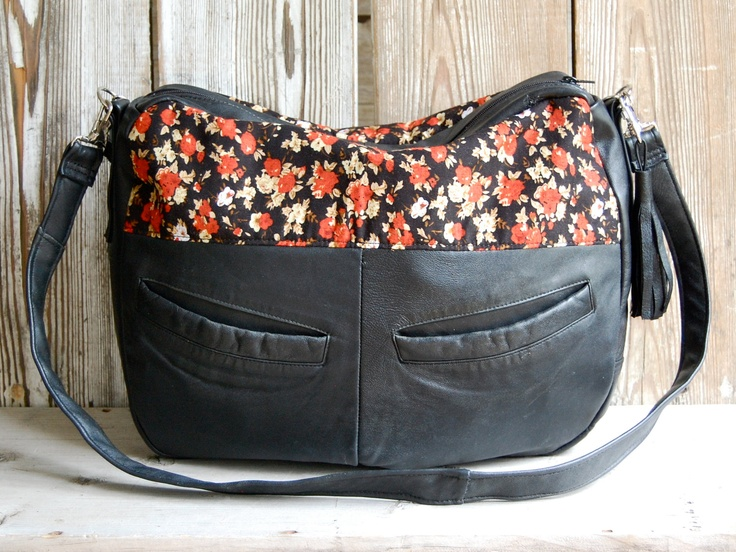.Style, Black Leather, Red Blossoms