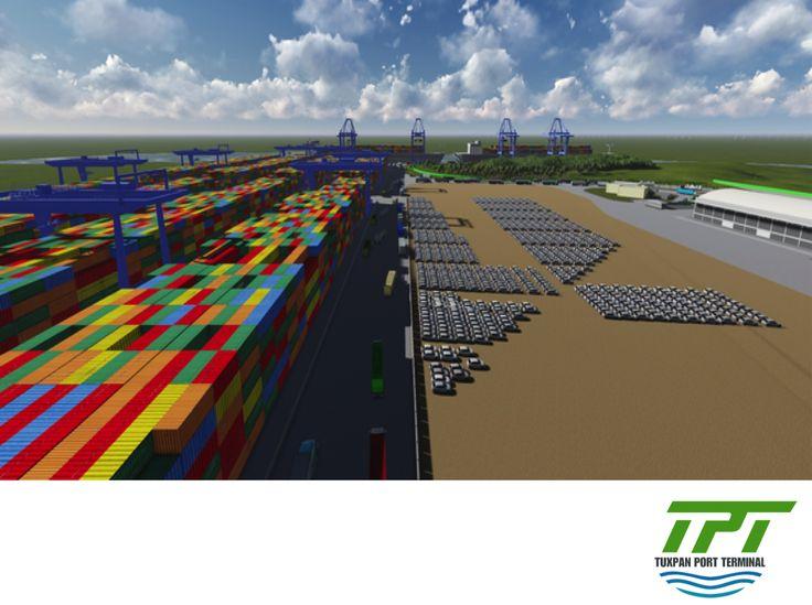 TUXPAN PORT TERMINAL. Del total del desplazamiento de vehículos por los diferentes puertos de México, en el primer semestre de este año los puertos ubicados en el Golfo de México movilizaron 446,776 unidades, teniendo un incremento del 20.4% contra el mismo lapso durante el 2014. Muy pronto entrará en operación Tuxpan Port Terminal, con altos estándares de calidad y productividad en todos los niveles operativos, lo que contribuirá al aumento de las exportaciones e importaciones en nuestro…