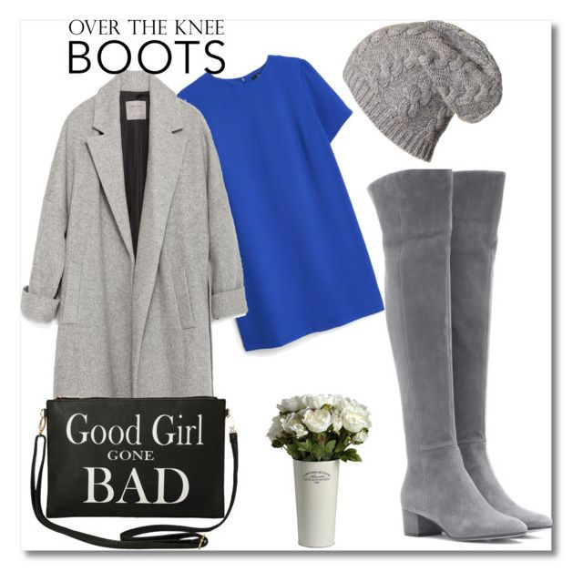 """""""good girl"""" by sparrows-and-poppy on Polyvore featuring MANGO, Zara, Gianvito Rossi, Torrid, urban, beanie, shortdress, OverTheKneeBoots and fallwinter2015"""
