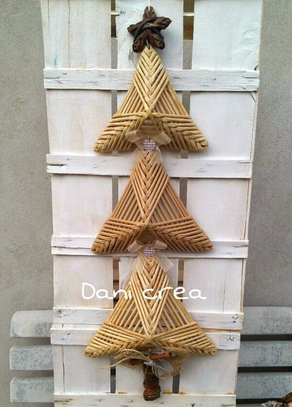 Il filo di mais di Chiara Gloria e Daniela: Albero di Natale con tutorial