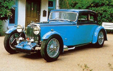 1933 Aston Martin 12 50 Standard Sedan
