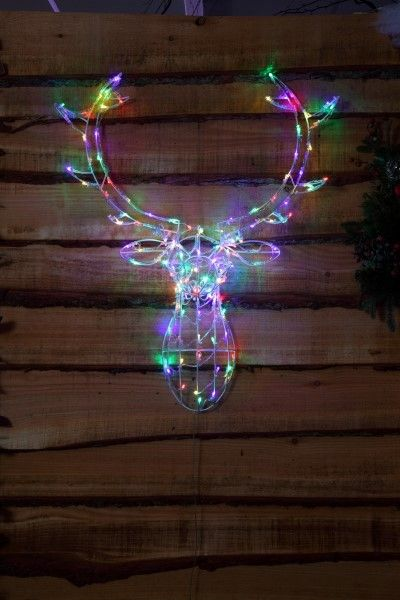 noma 24 outdoor battery operated led christmas lights. multi colour stag head outdoor light | noma lighting christmas 2016 www. noma. noma 24 battery operated led lights 4
