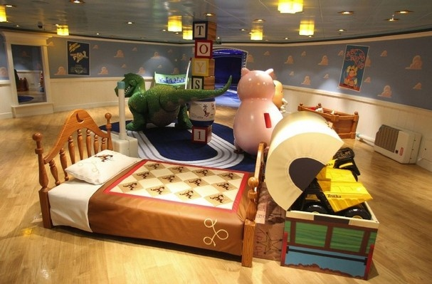 The Oceaneers Club, a childrens play area, is shown on board the Disney Cruise Lines newest ship Disney Dream,  Tuesday, Jan. 4, 2011, at her home port of Port Canaveral, Fla.   (AP Photo/Orlando Sentinel, Red Huber)